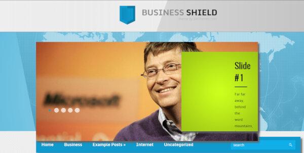 BusinessShield – Translator WordPress Theme