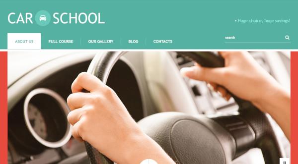 car-school-bootstrap-wordpress-theme