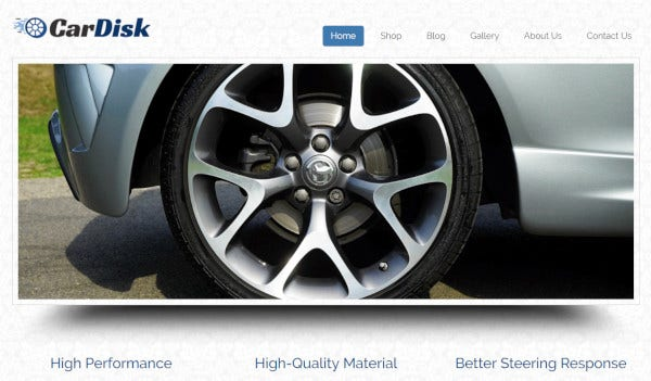 car disk – woocommerce plugin wordpress theme
