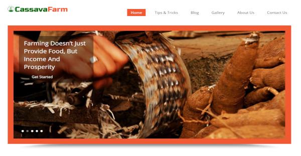 cassava farm ui elements wordpress theme