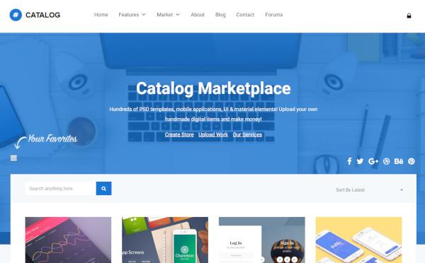 catalog-multi-vendor-wordpress-theme