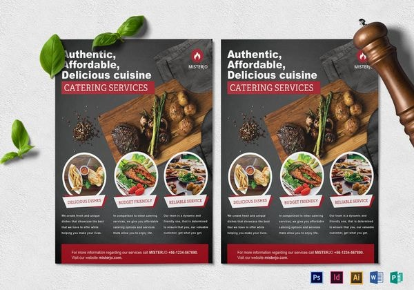 catering-businesss-service-flyer