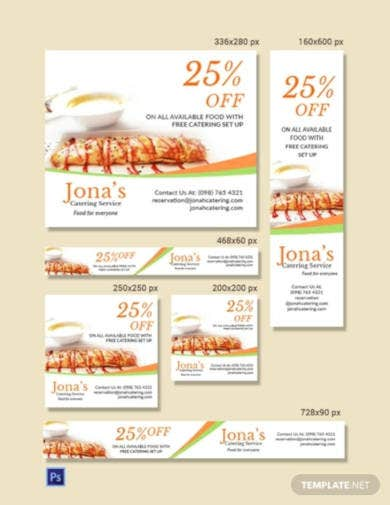 catering-service-ads-banner-template