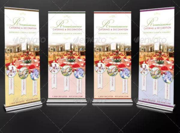 catering service promotional banner