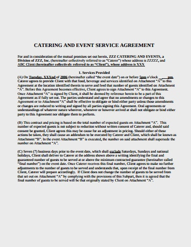 catering-and-event-service-agereement