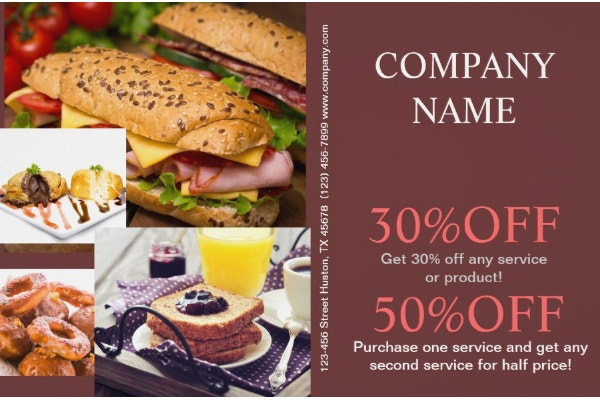 chef catering flyertemplate