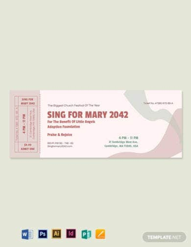 church-event-ticket-template