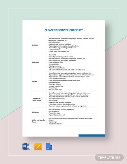 cleaning service checklist2