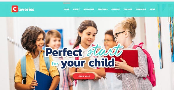 cleveries – well documented wordpress theme