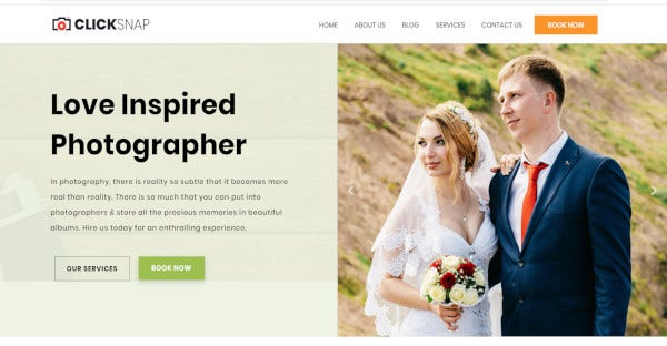 ClickSnap - SEO Friendly WordPress Theme