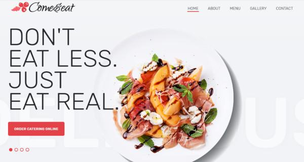 come eat jetmenu capable wordpress theme
