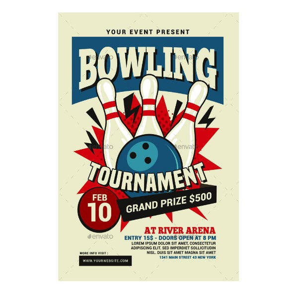 company-bowling-tournament-flyer-invitation-template