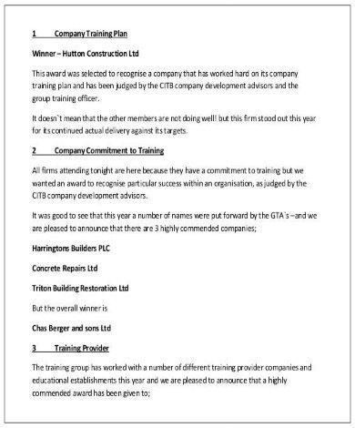 company training plan template pdf