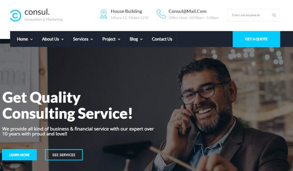 consul-one-click-demo-install-wordpress-theme
