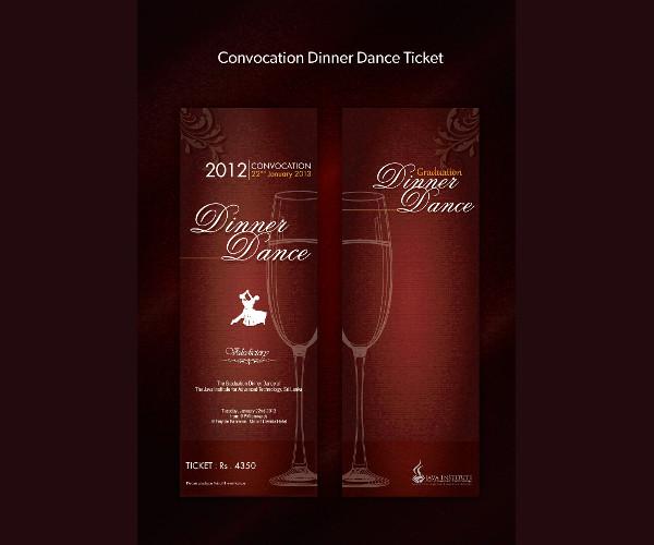 convocation dinner dance ticket