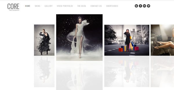 Core - jQuery Effects WordPress Theme