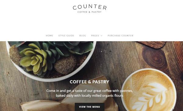counter – mobile friendly wordpress theme