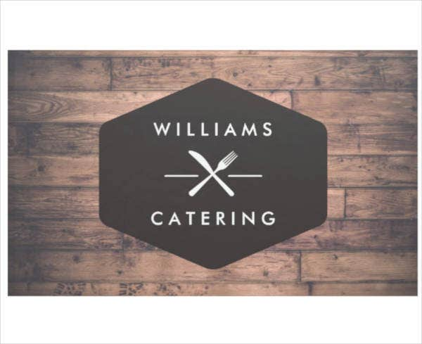 Creative Catering Logo Banner