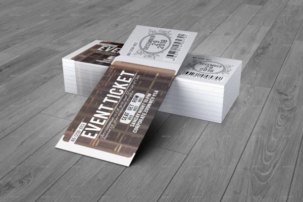 Creative Event Ticket Design