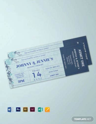creative-wedding-ticket-template