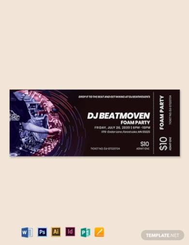 dj-event-ticket-template