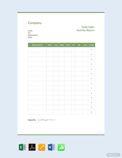 daily-sales-activity-report-template