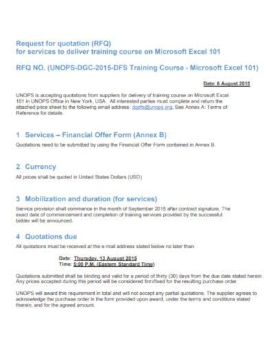 10+ Delivery Quotation Templates - PDF | Free & Premium Templates