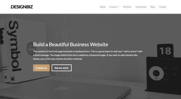 designbiz-inbuilt-gallery-wordpress-theme