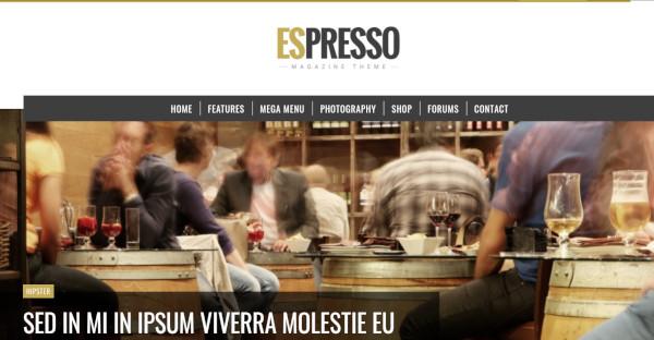 espresso seo friendly wordpress theme