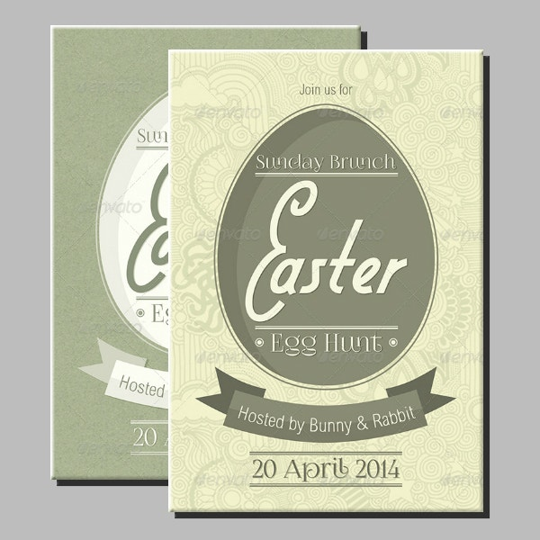 easter egg hunting invitation example1