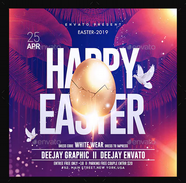 easter-party-flyer-template