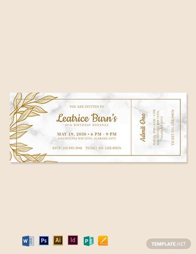 elegant-birthday-ticket-template
