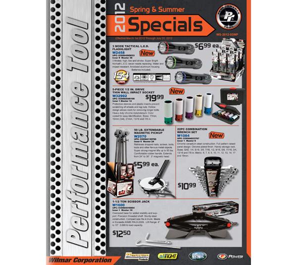 elegant promotional sales flyer