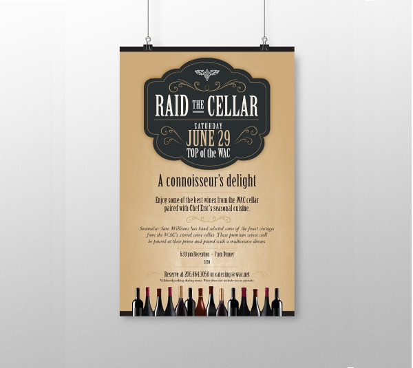 elegent-catering-service-poster