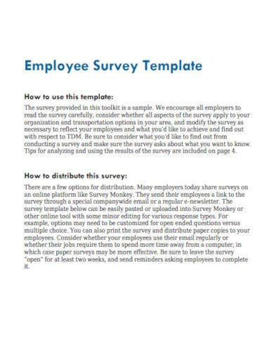employee-survey-sample-template