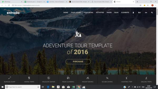 entrada-70-html-pages-wordpress-theme
