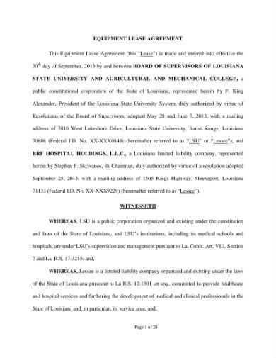 equipment lease agreement 01