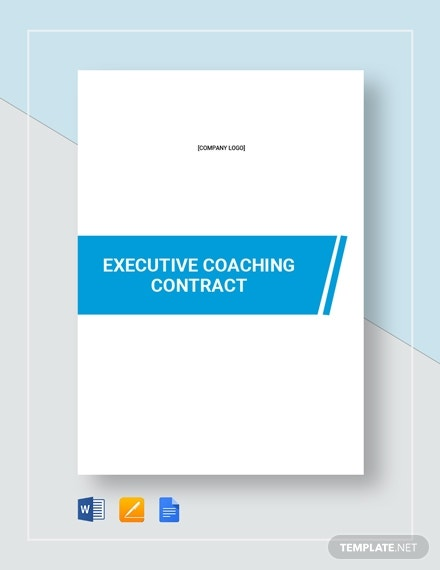 executive coaching contract