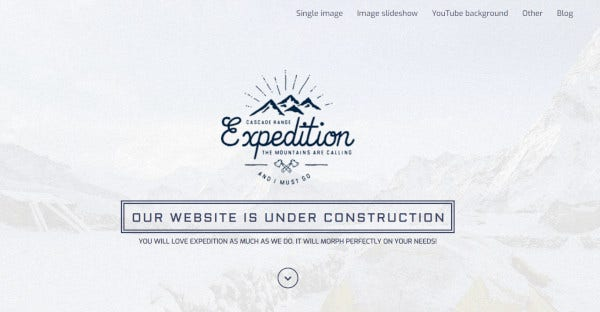 Expedition - SEO friendly WordPress Theme