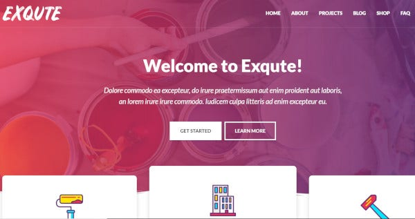 exqute-elementor-page-builder-wordpress-theme