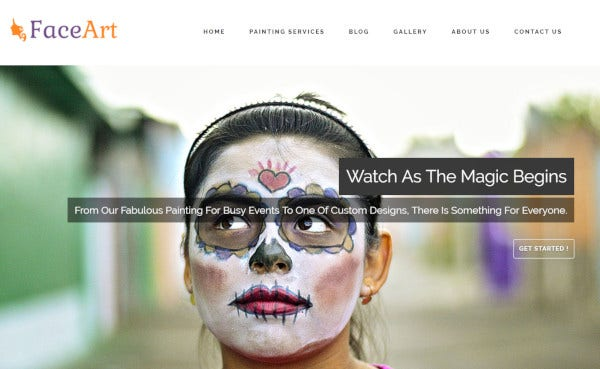 faceart-responsive-wordpress-theme