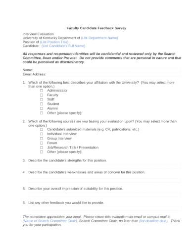 faculty-feedback-survey