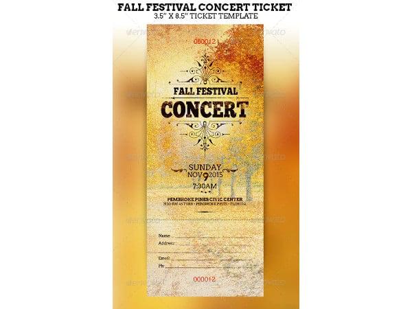 fall-festival-concert-ticket-template
