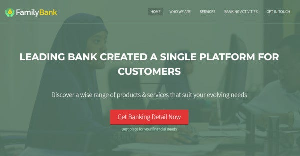 familybank – mobile friendly wordpress theme