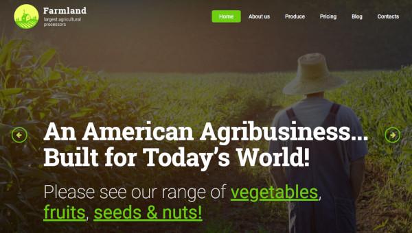 farmland-cherry-framework-wordpress-theme