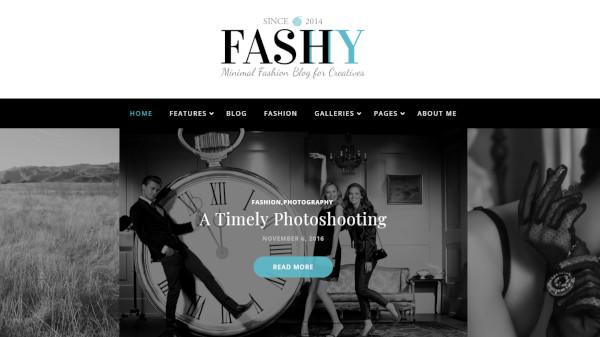 fashy – responsive wordpress theme