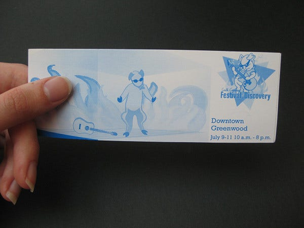 festival of discovery ticket