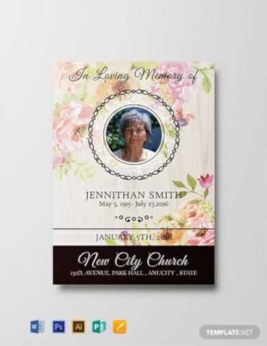 floral-funeral-thank-you-card-template