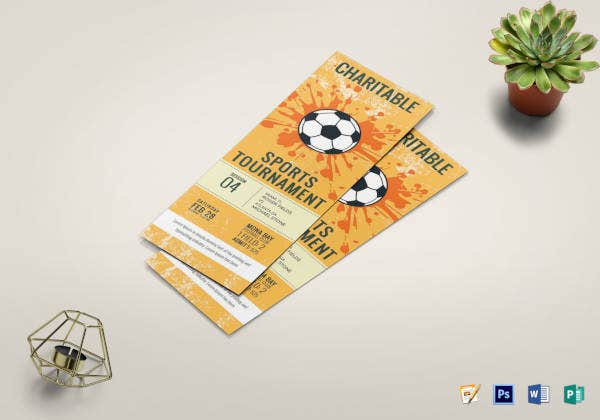 football tournament ticket