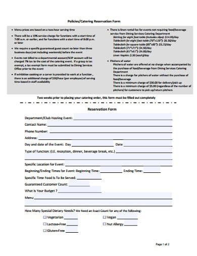 formal-catering-reservation-form